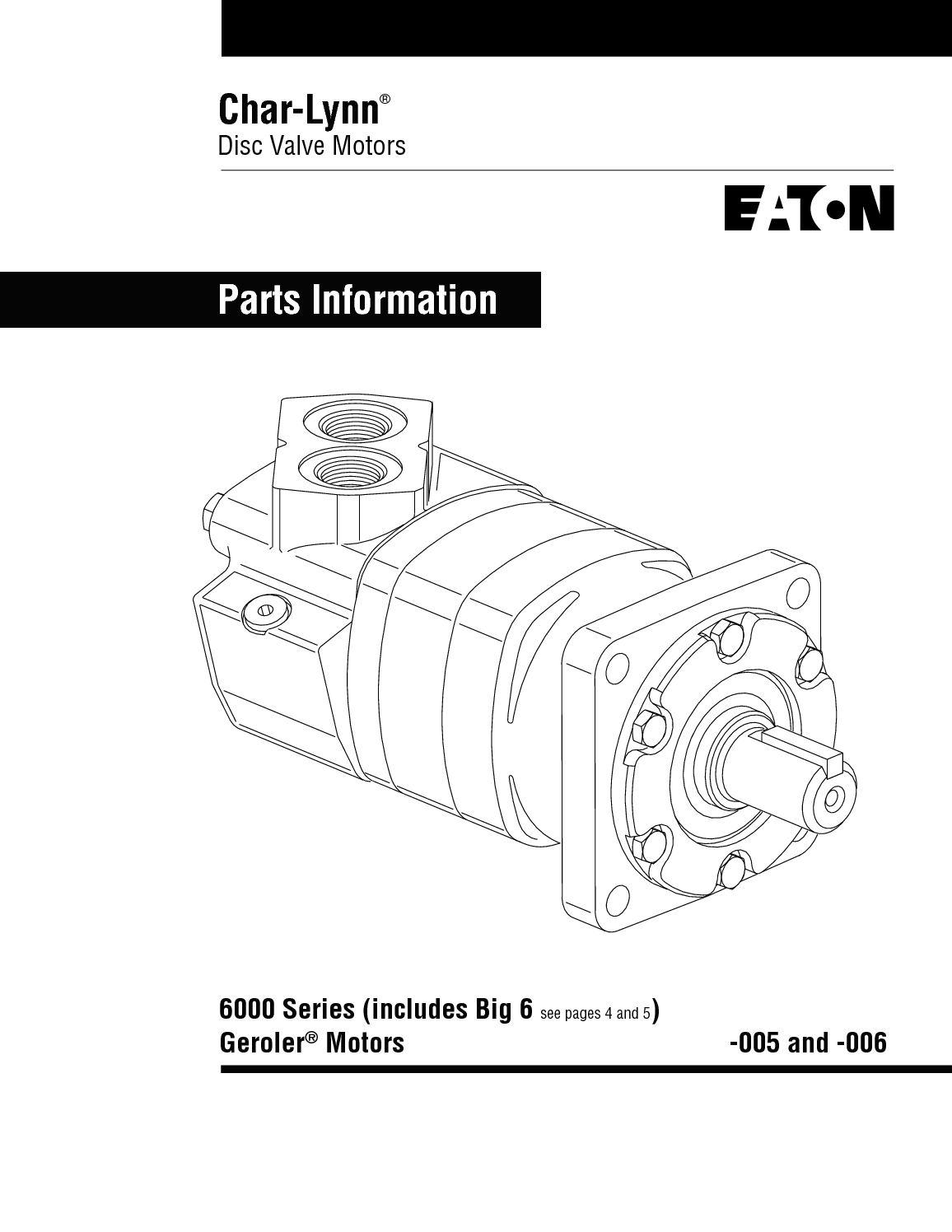New Char-lynn 61285-00B seal kit 112//113 complete Buna