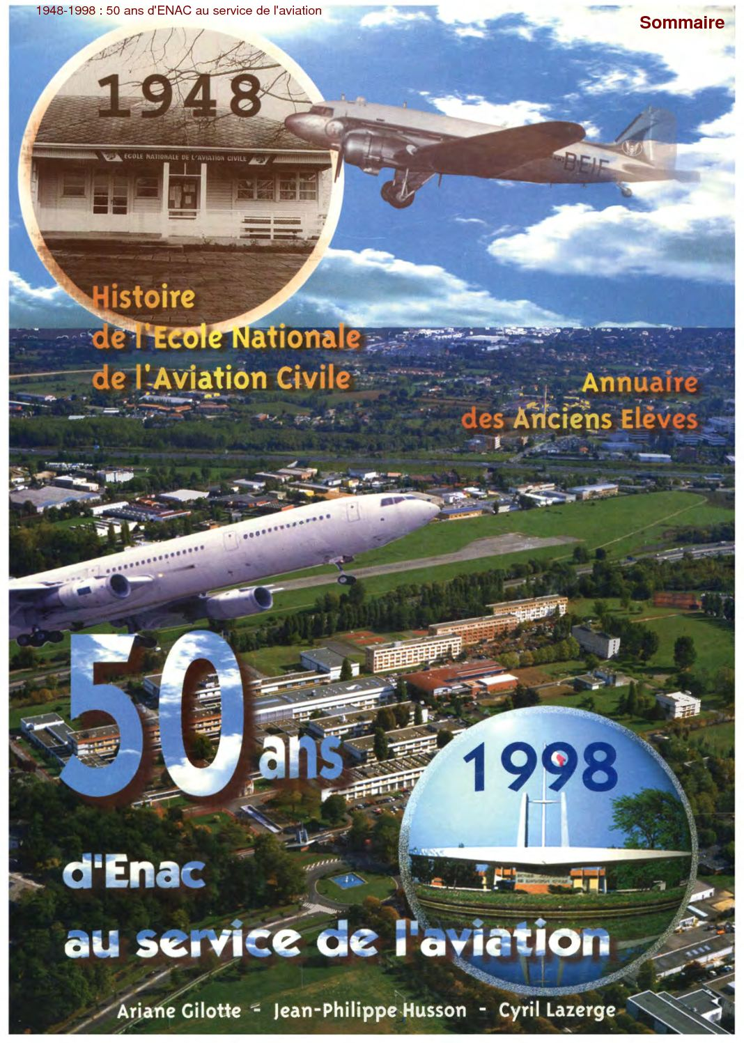 watch 1ce0e 1129d Calaméo - 1998 Cinquantenaire de l ENAC, l école nationale de l aviation  civile