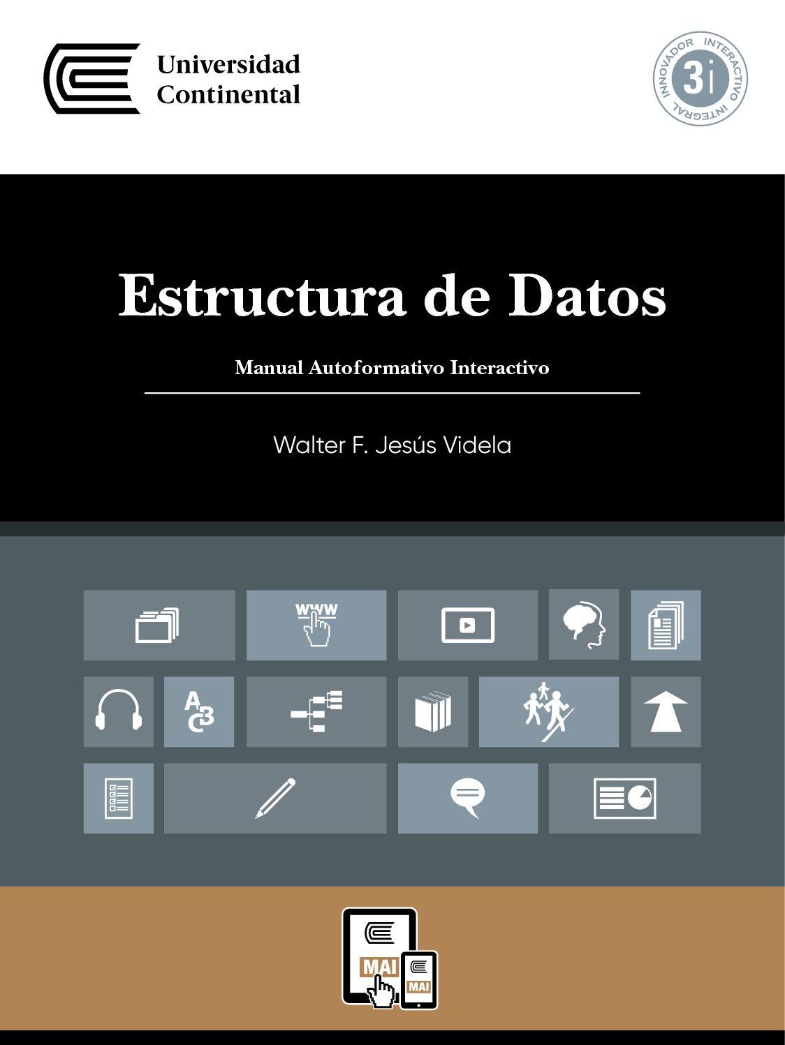 Uc0316 Mai Estructura De Datos Ed1 V1 2017