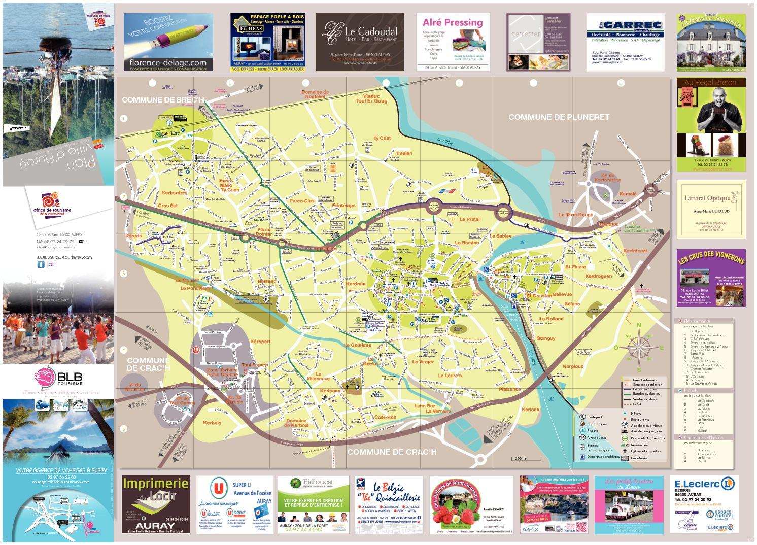 Plan De Ville Auray