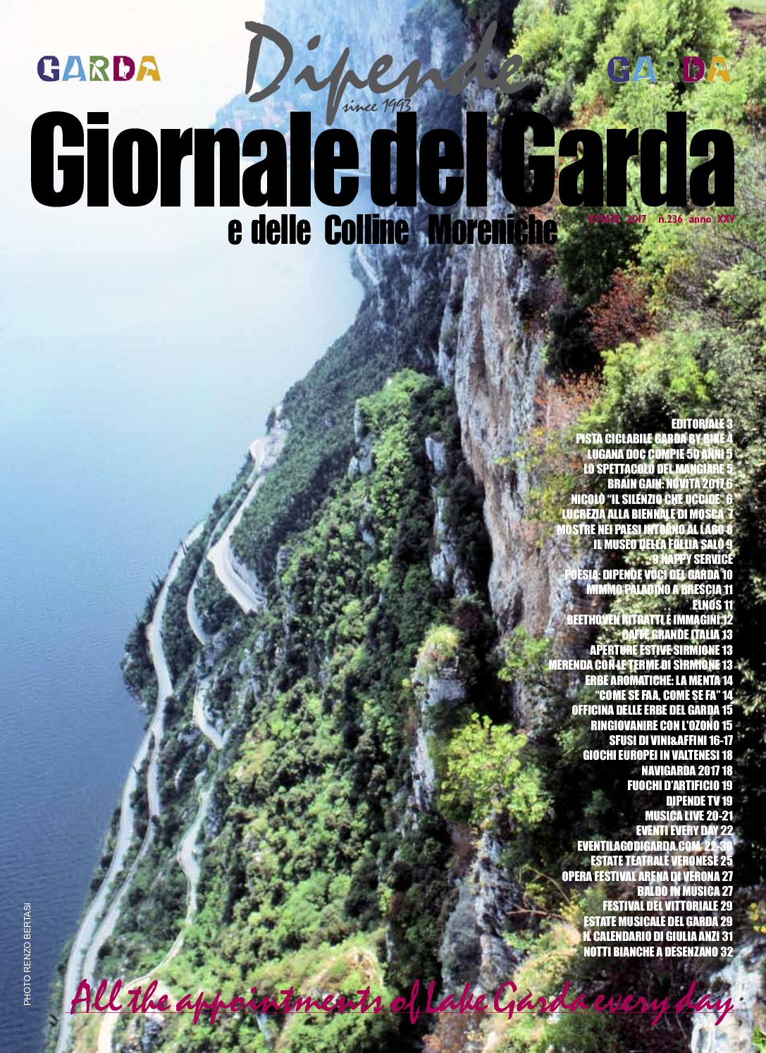 Calaméo - Dipende Giornale del Garda n 236 Estate 2017