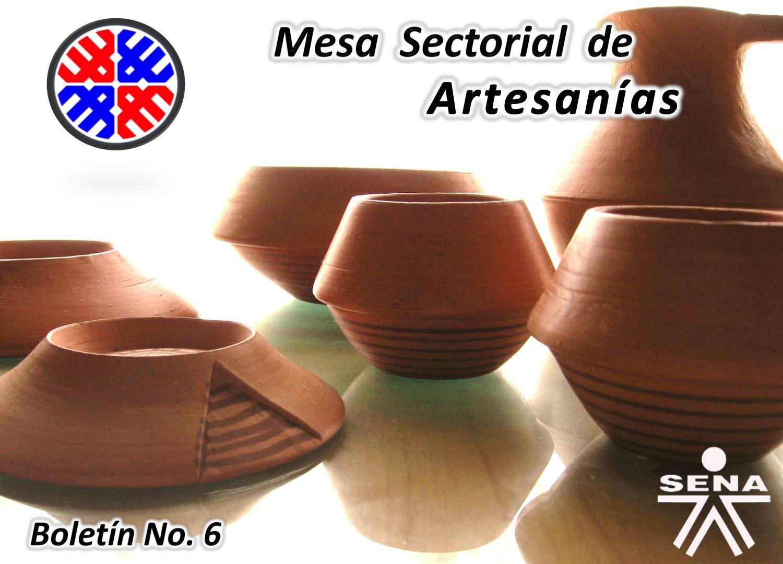 Boletin 06 Mesa Artesanías