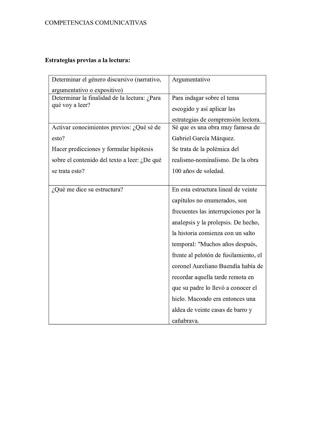 Unidad 2 Taller 3 Comprensión Y Producción Del Discurso