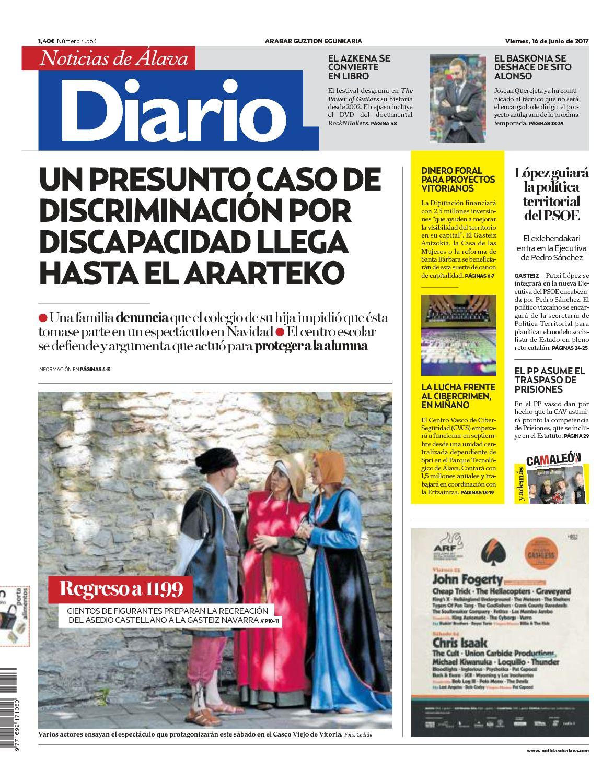 Noticias Calaméo Álava 20170616 Diario De 4qjcA53RL