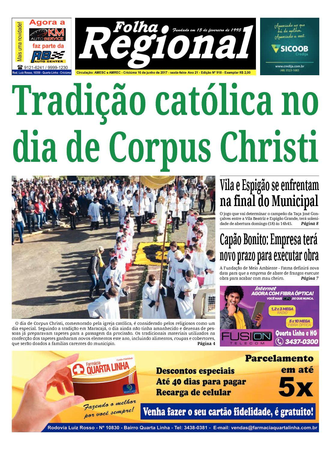 Calaméo - Folha Regional Ed.918 - 16 06 2017 3f7cb0facc