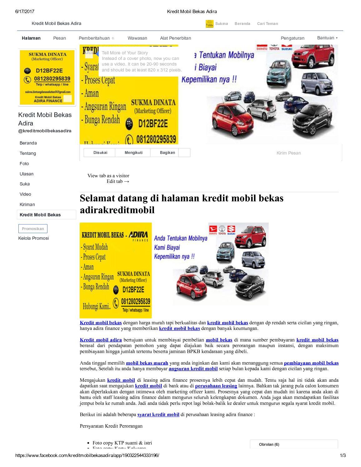 Calameo Kredit Mobil Bekas Murah