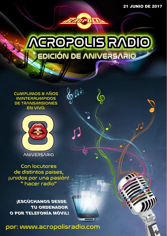 Calaméo Acrópolis Radio Edición De Aniversario
