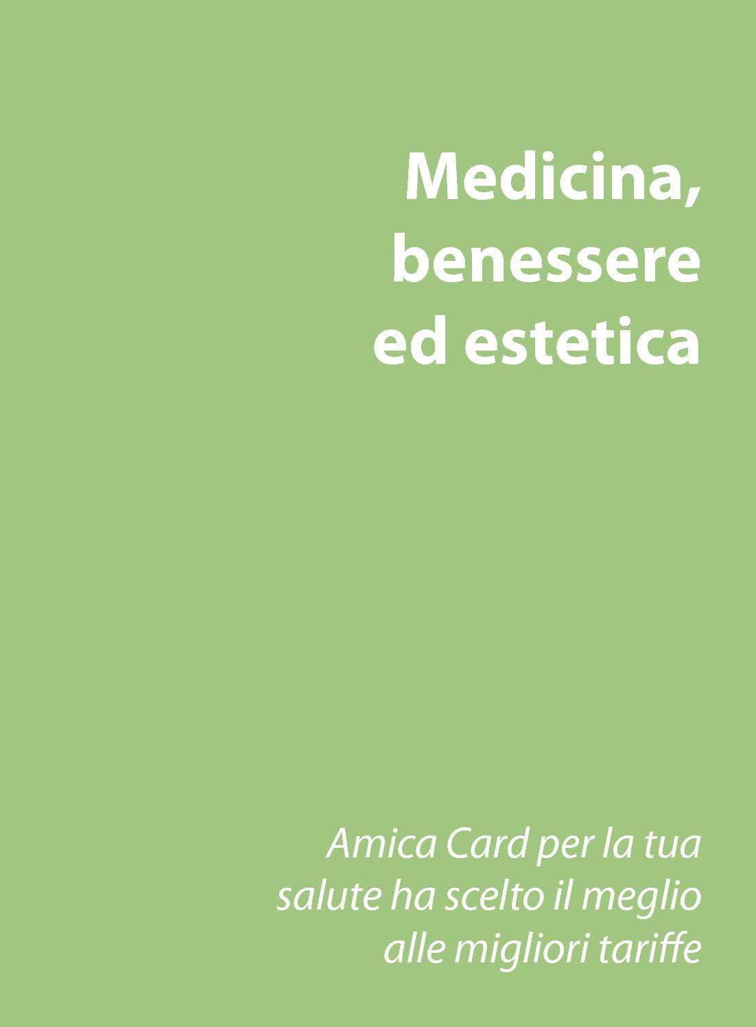 Calameo Medicina Benessere Ed Estetica