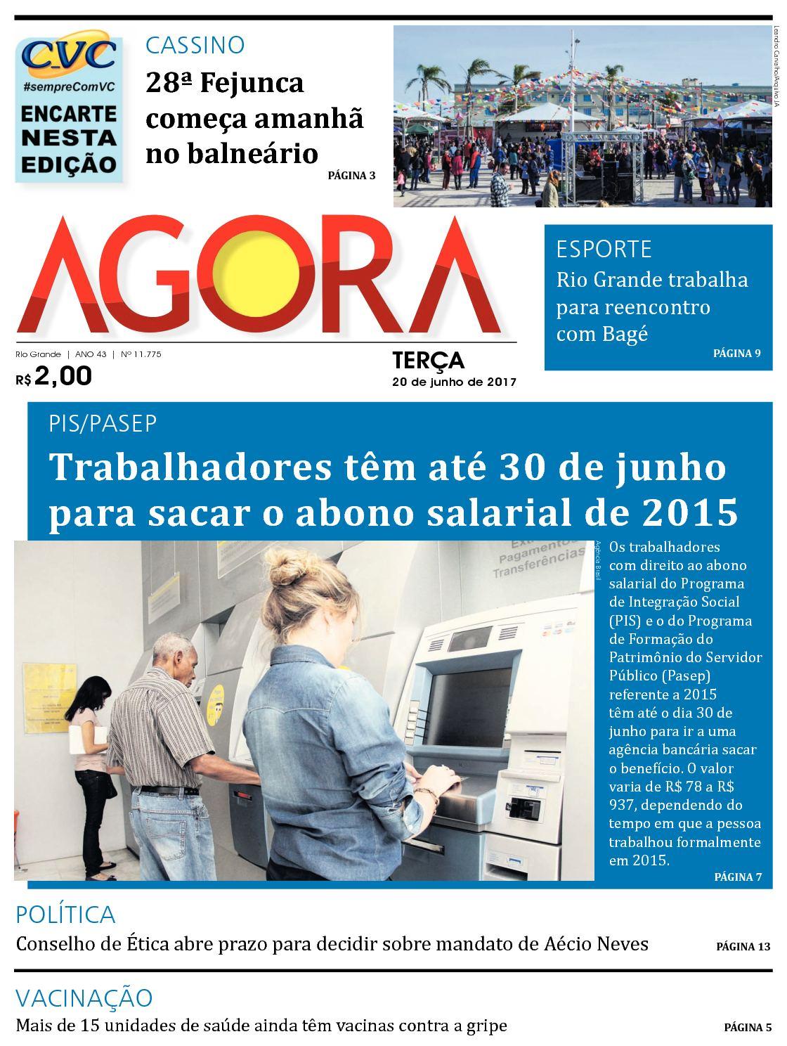 5dbdcebb52ef5 Calaméo - Jornal Agora - 11775 - 20 de Junho de 2017