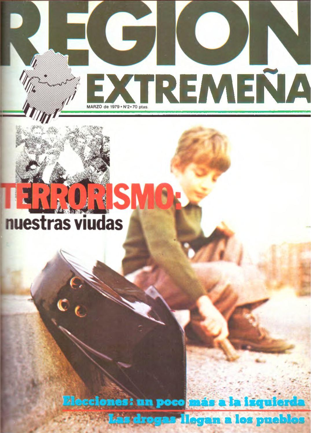 Calaméo - Revista Región Extremeña nº 2/marzo 1979 por Hogar Extremeño de  Madrid