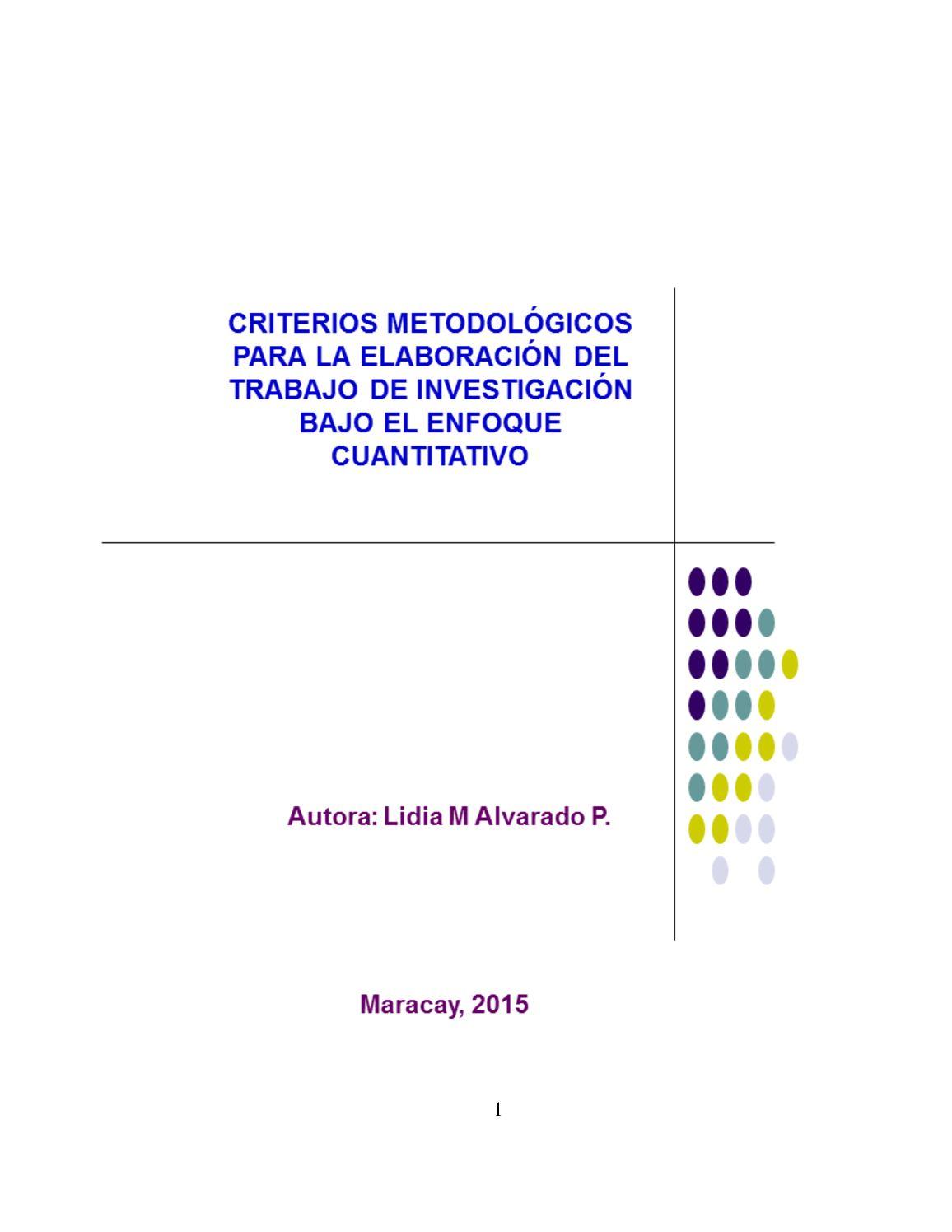 Manual Para Elaboración De Un Trabajo De Investigación