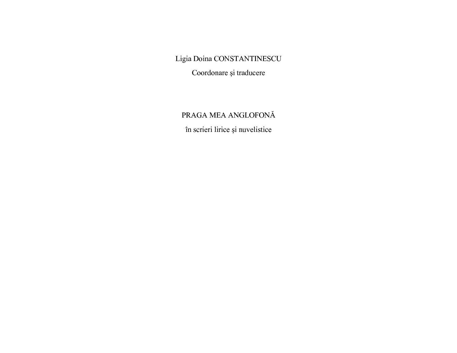 Calameo Ligia Doina Constantinescu Coordonare Si Traducere