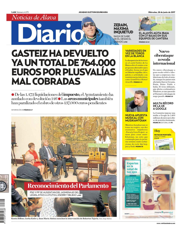 Calaméo Diario de Noticias de Álava 20170628