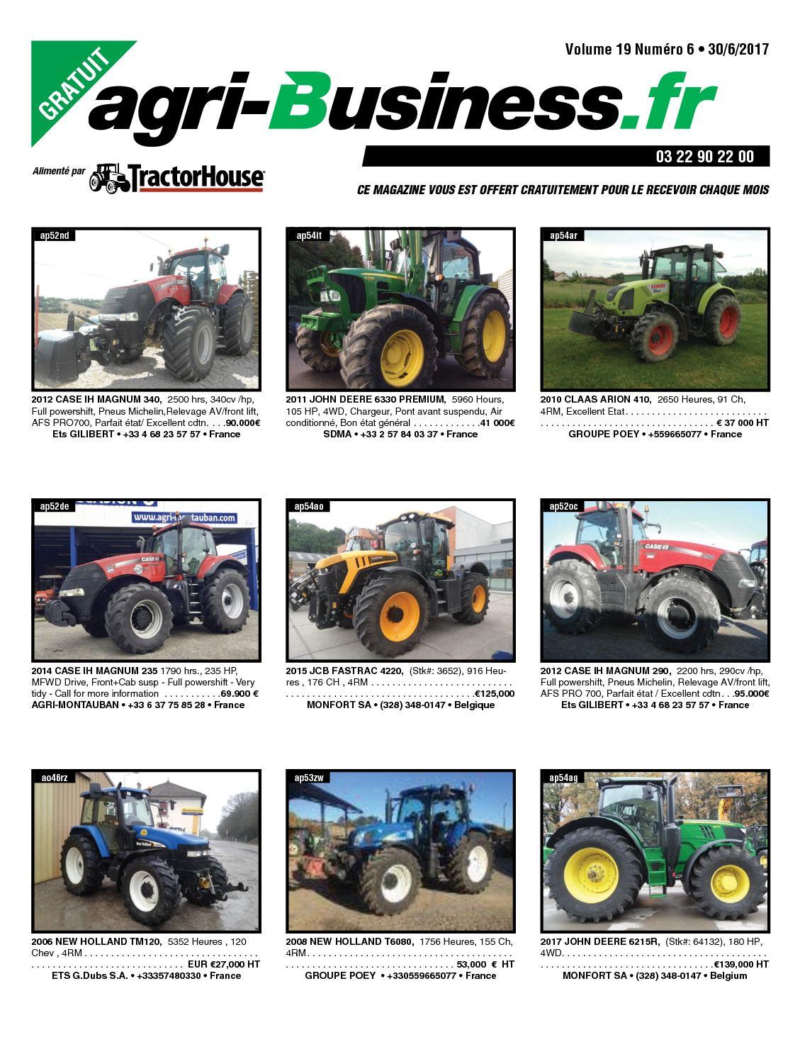 Calaméo - AGRI BUSINESS VOLUME 19 NUMÉRO 6 • 30/06/2017