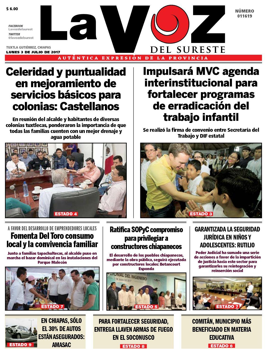 Calaméo Del Sureste Diario Voz La ECoWQexBrd