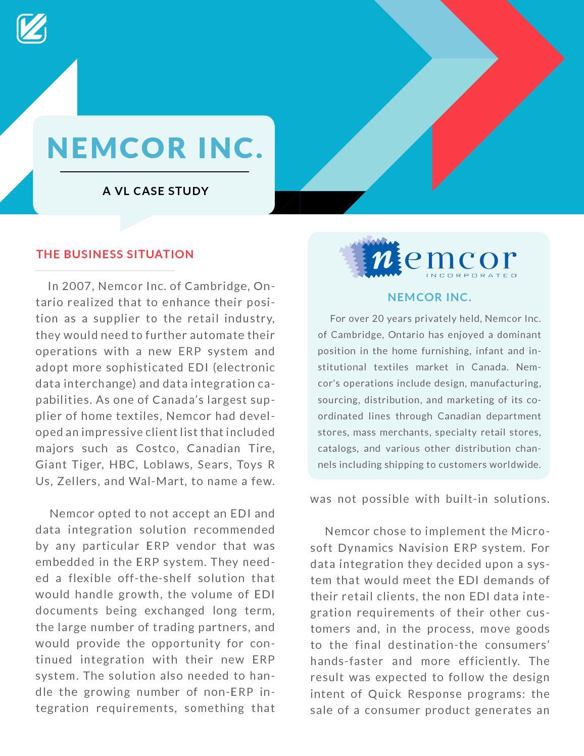 Calaméo - Nemcor Inc  : A VL Case Study