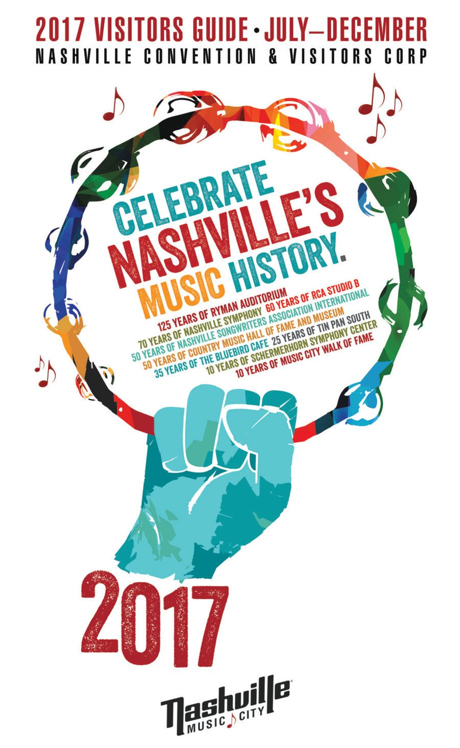 4b2539e30e3 Calaméo - Nashville Visitors Guide July-December 2017