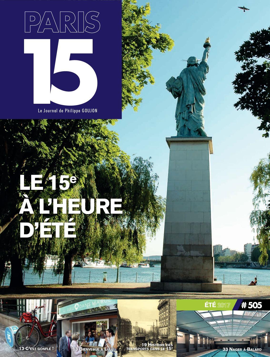 Vita Confort 25 Rue Lecourbe calaméo - paris 15 n°505