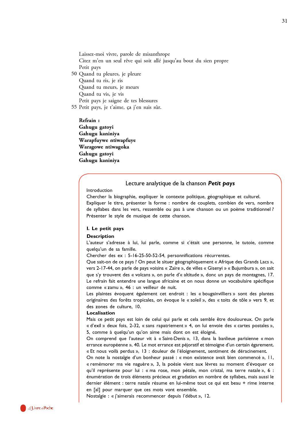 Dossier Pédagogique - Petit Pays De Gaël Faye - CALAMEO Downloader