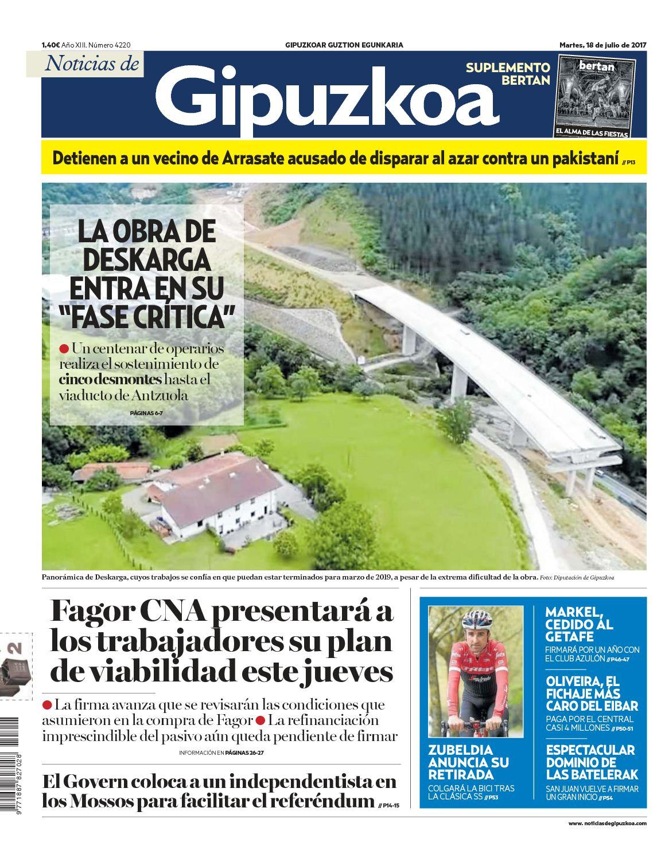Calaméo Noticias De Gipuzkoa 20170718