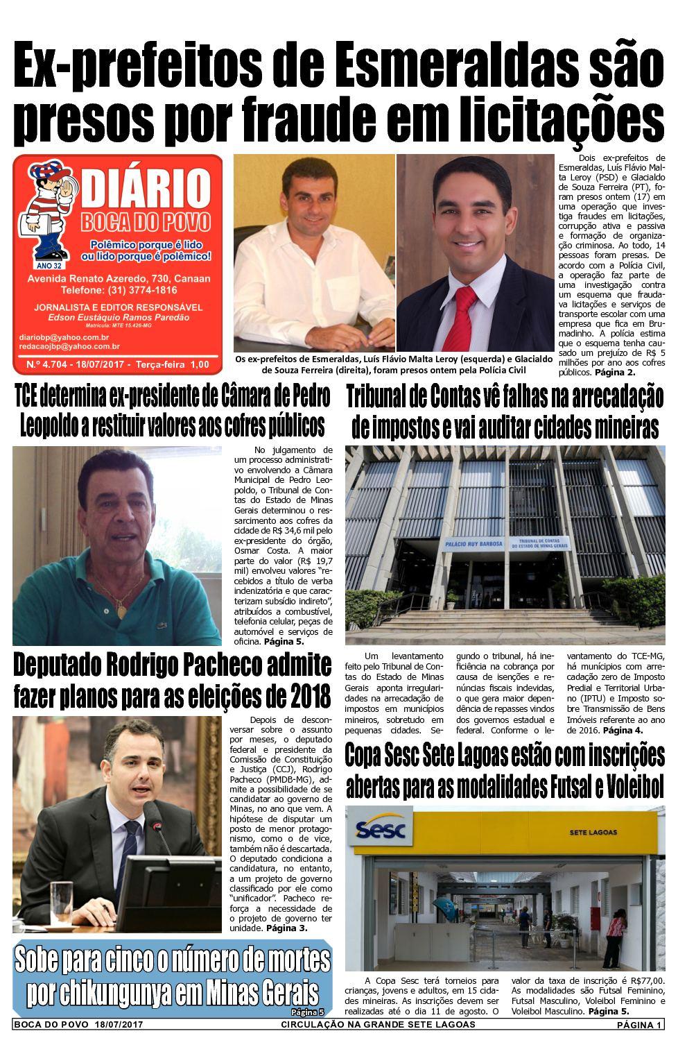 Calaméo - Jornal Diário Boca do Povo de terça-feira dia 18 de julho de 2017 b5ae4ae103