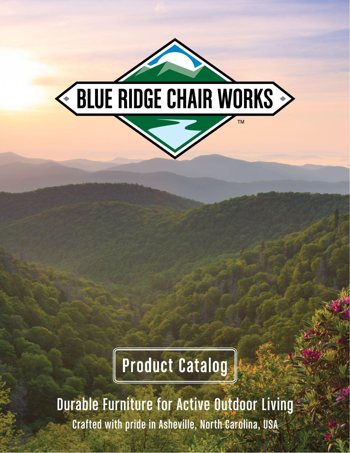 Calaméo 2018 Blue Ridge Chair Works Catalog