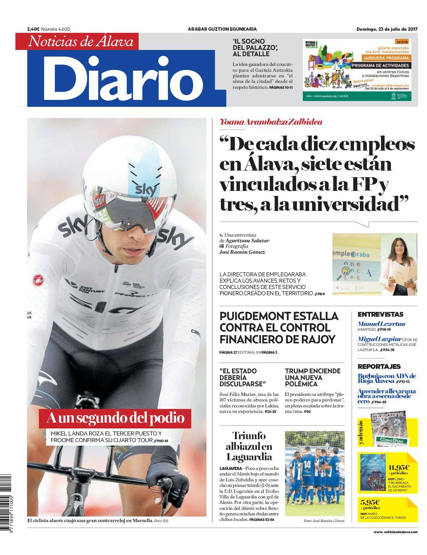 Calaméo Diario de Noticias de Álava 20170723