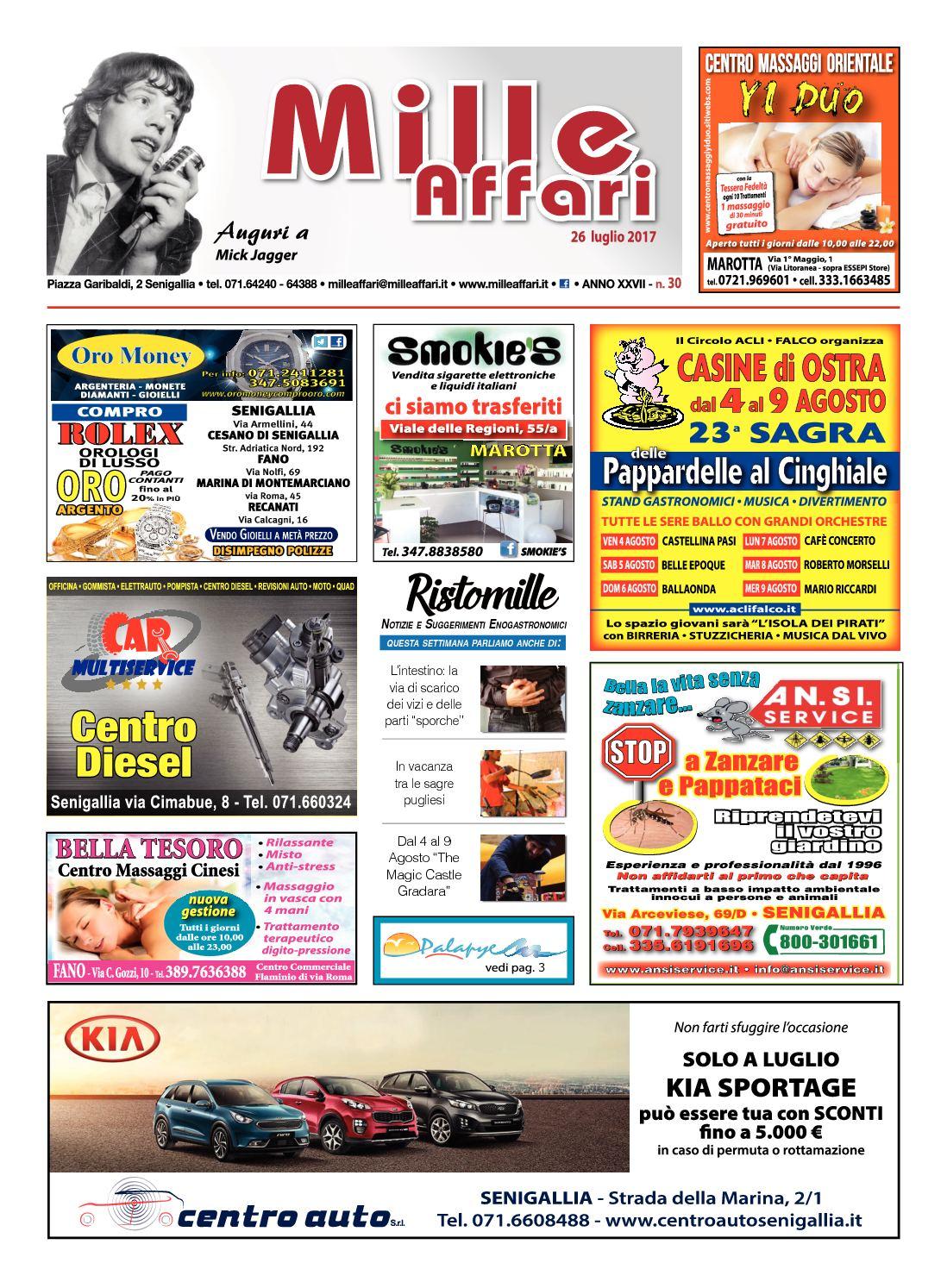 promo code 0d9cd 7dcab Calaméo - Milleaffari N°30 Del 26.07.17