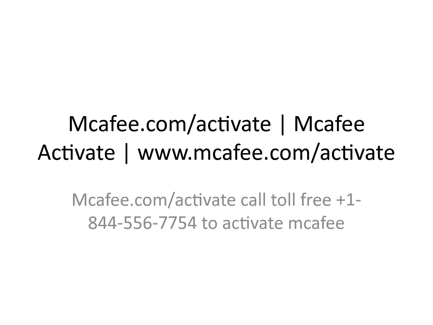 Calaméo - Mcafee com/activate | Mcafee Activate | www mcafee