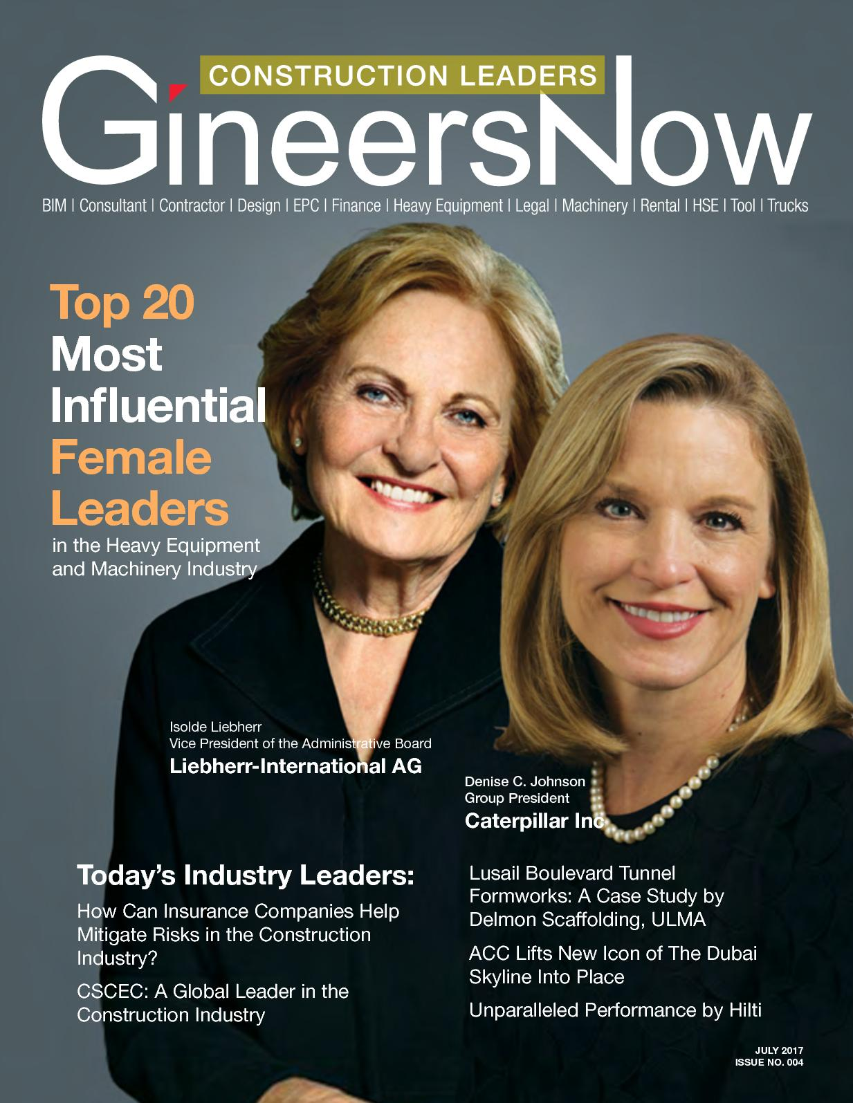Calam 233 O Top 20 Most Influential Female Leaders In The