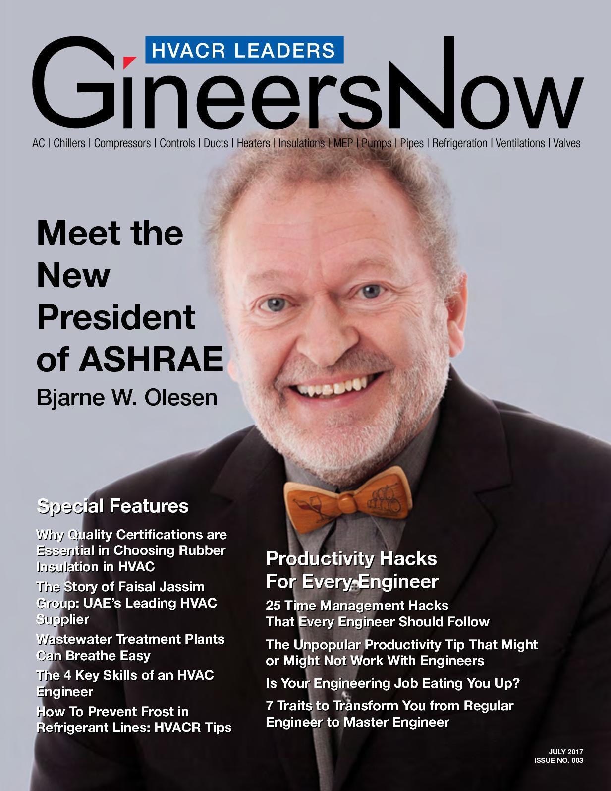 Calaméo - Meet the New President of ASHRAE, Bjarne W  Olesen