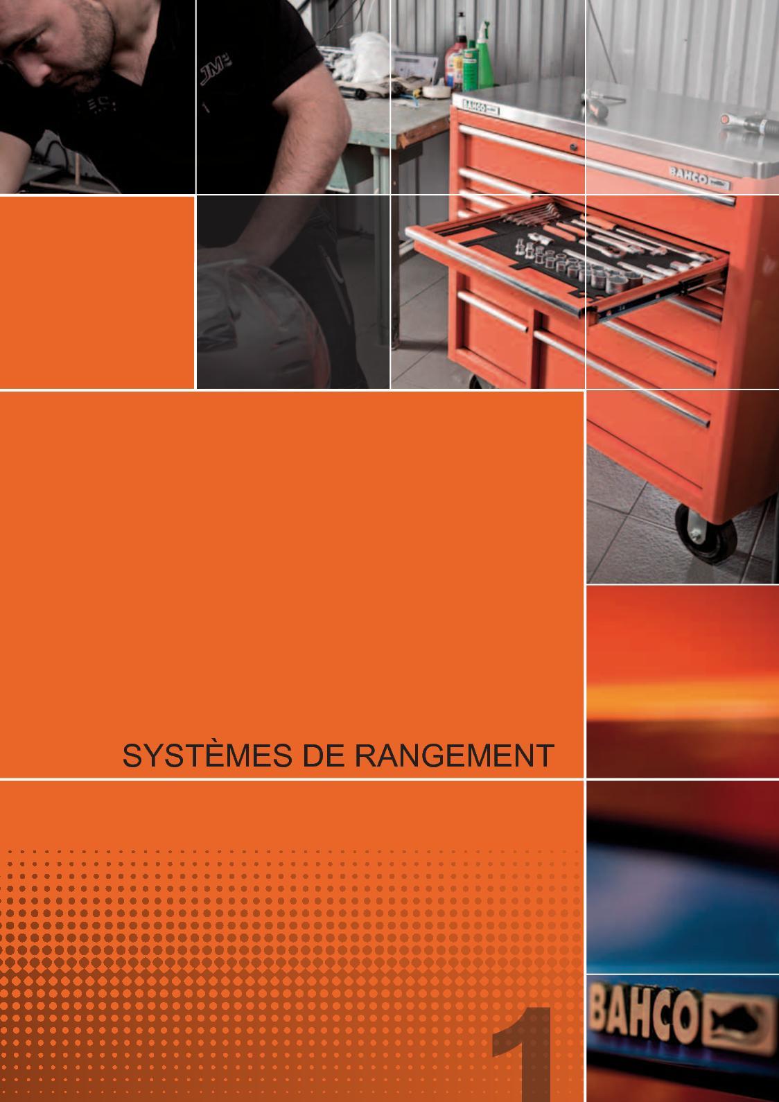 Bahco ERGO Combinaison Pinces Série 2628 G Range