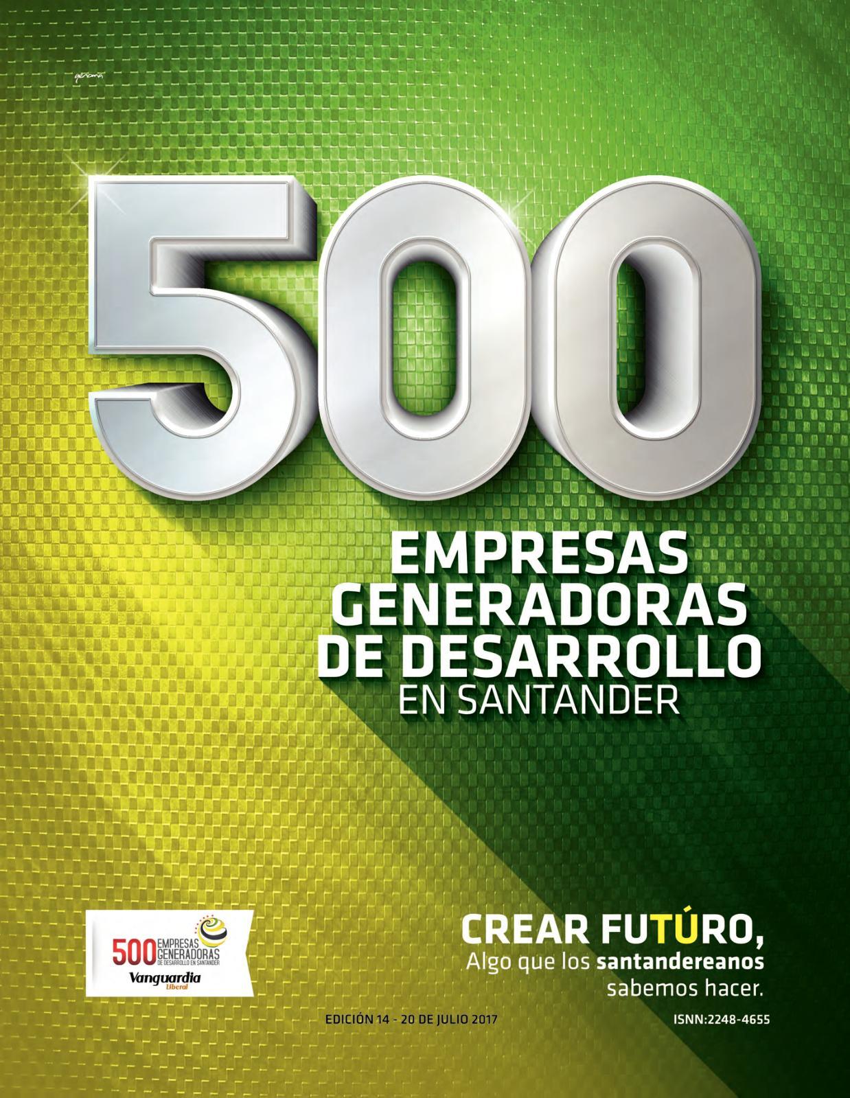 b241232f Calaméo - 500 empresas generadoras de desarrollo en Santander - 2017