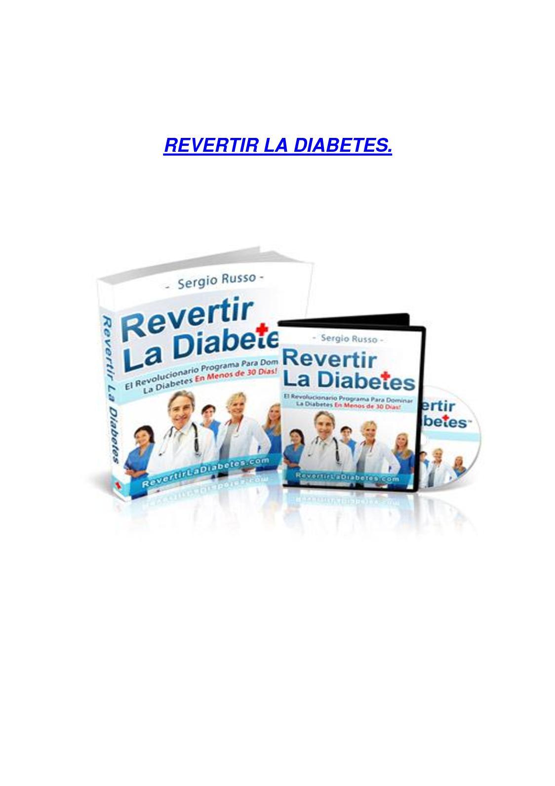 como revertir la diabetes en 30 dias y