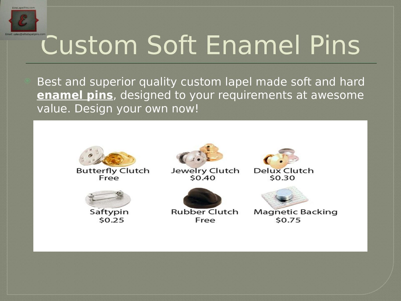 Calaméo - Custom Soft Enamel Pins