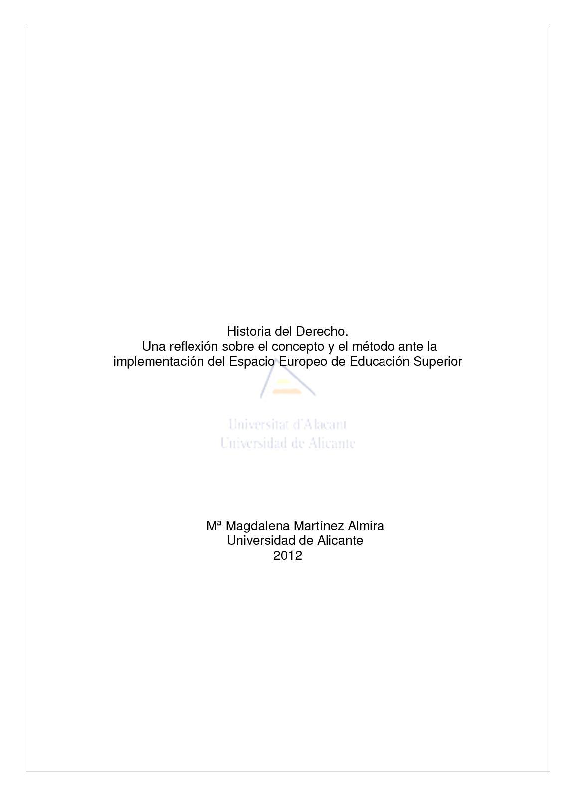 Calaméo - Historia Del Derecho