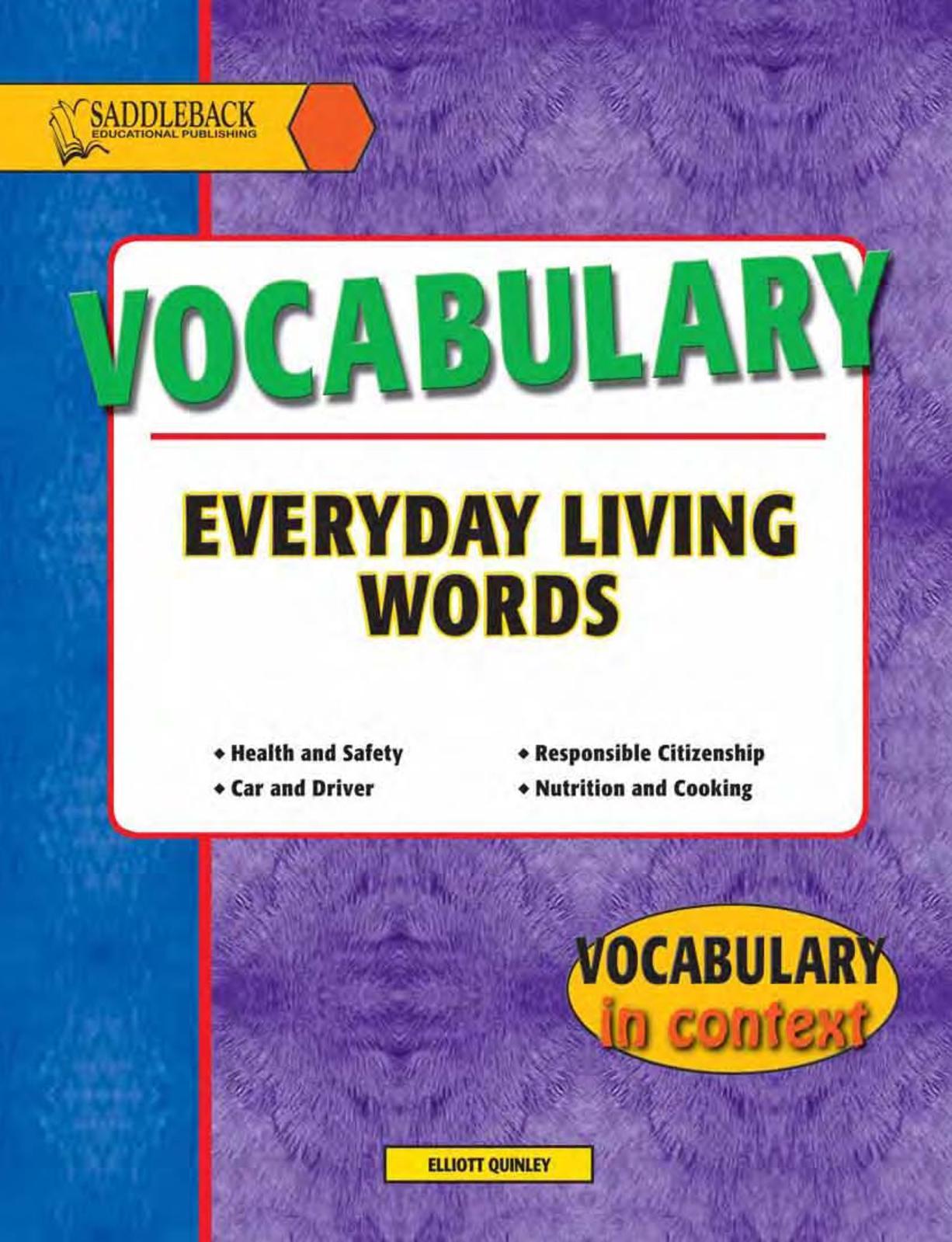 Calaméo - 1vocabulary Everyday Living Words 1
