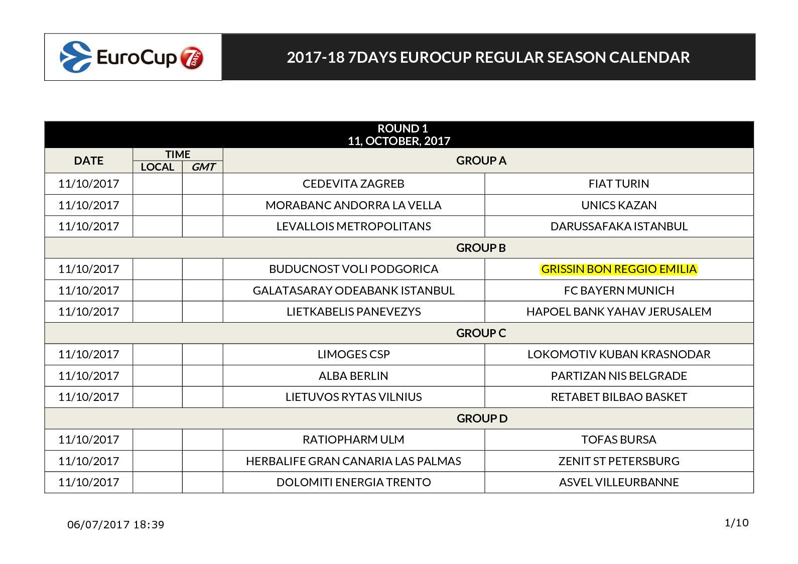 Calendario Eurocup.Calameo Calendario Eurocup