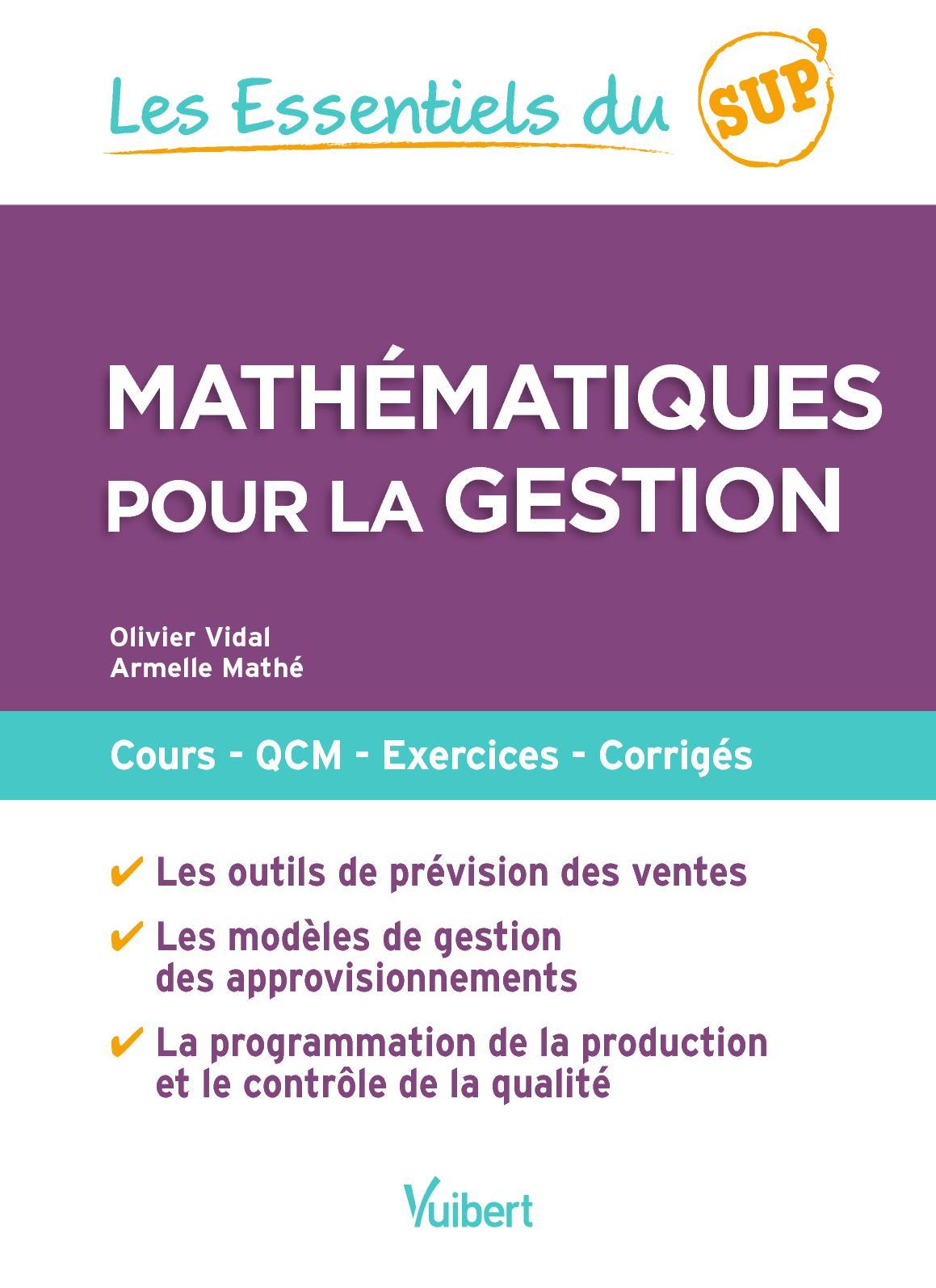 Mathématiques pour la gestion