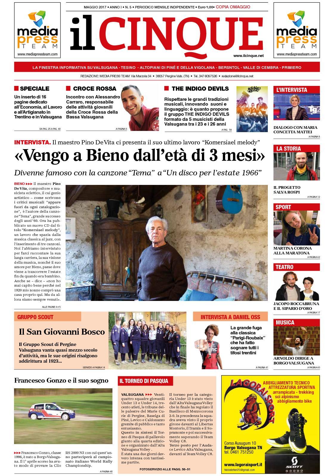 Calaméo Il Cinque Maggio 2017