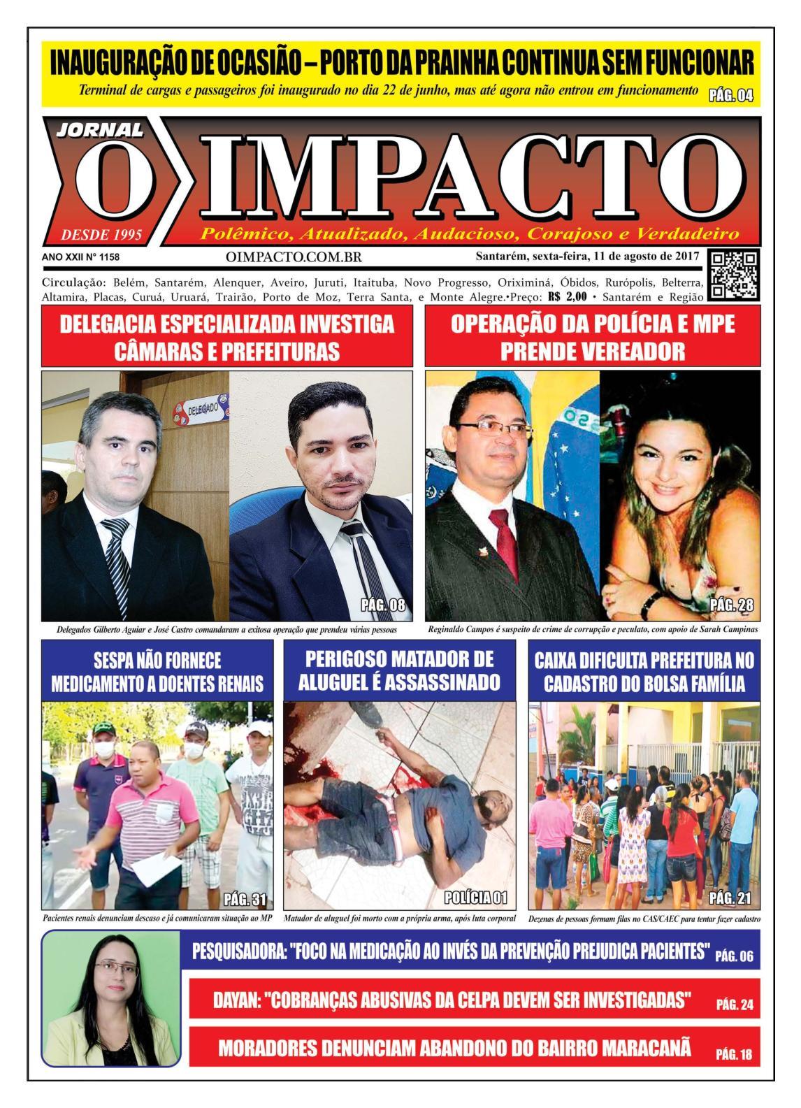 Anelise Pelada calaméo - jornal o impacto ed. 1158