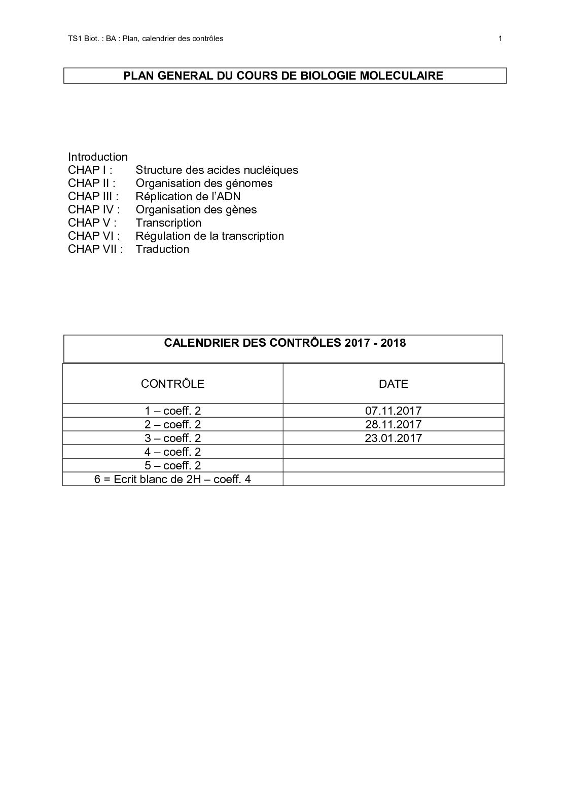 Calendrier Traduction.Calameo Plan Cours Bmgg 1