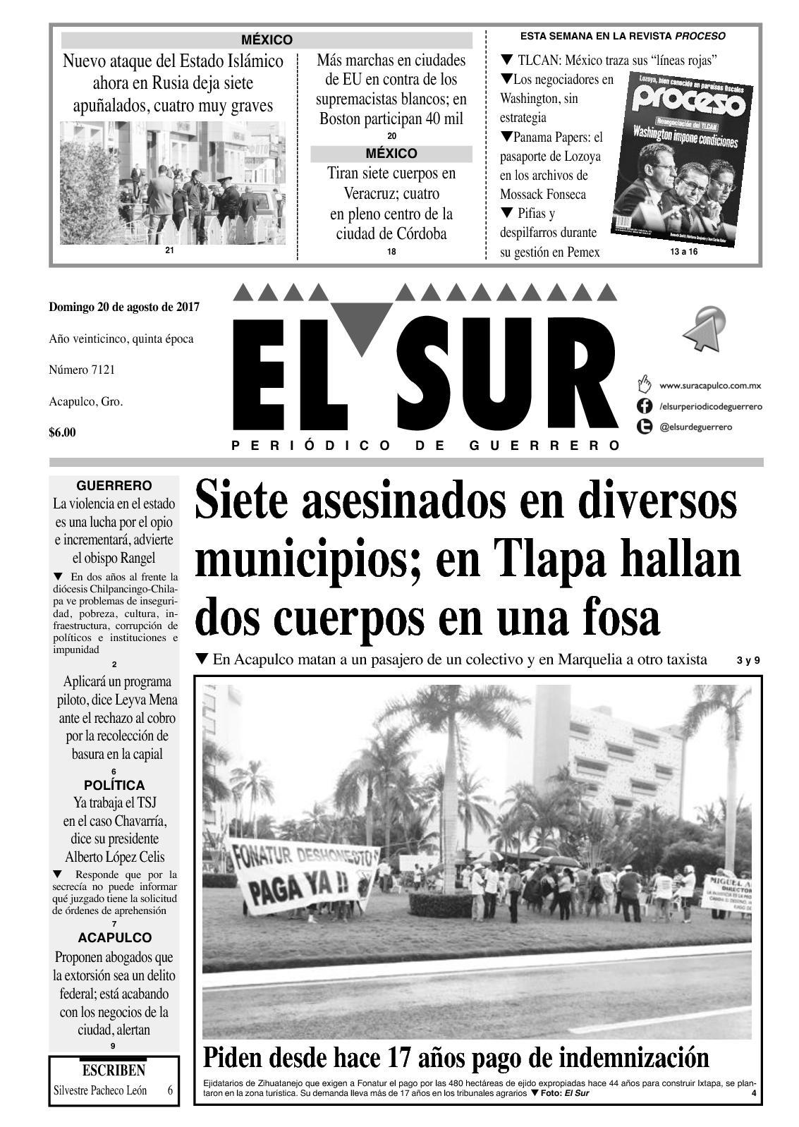Calaméo - El Sur Domingo 20082017