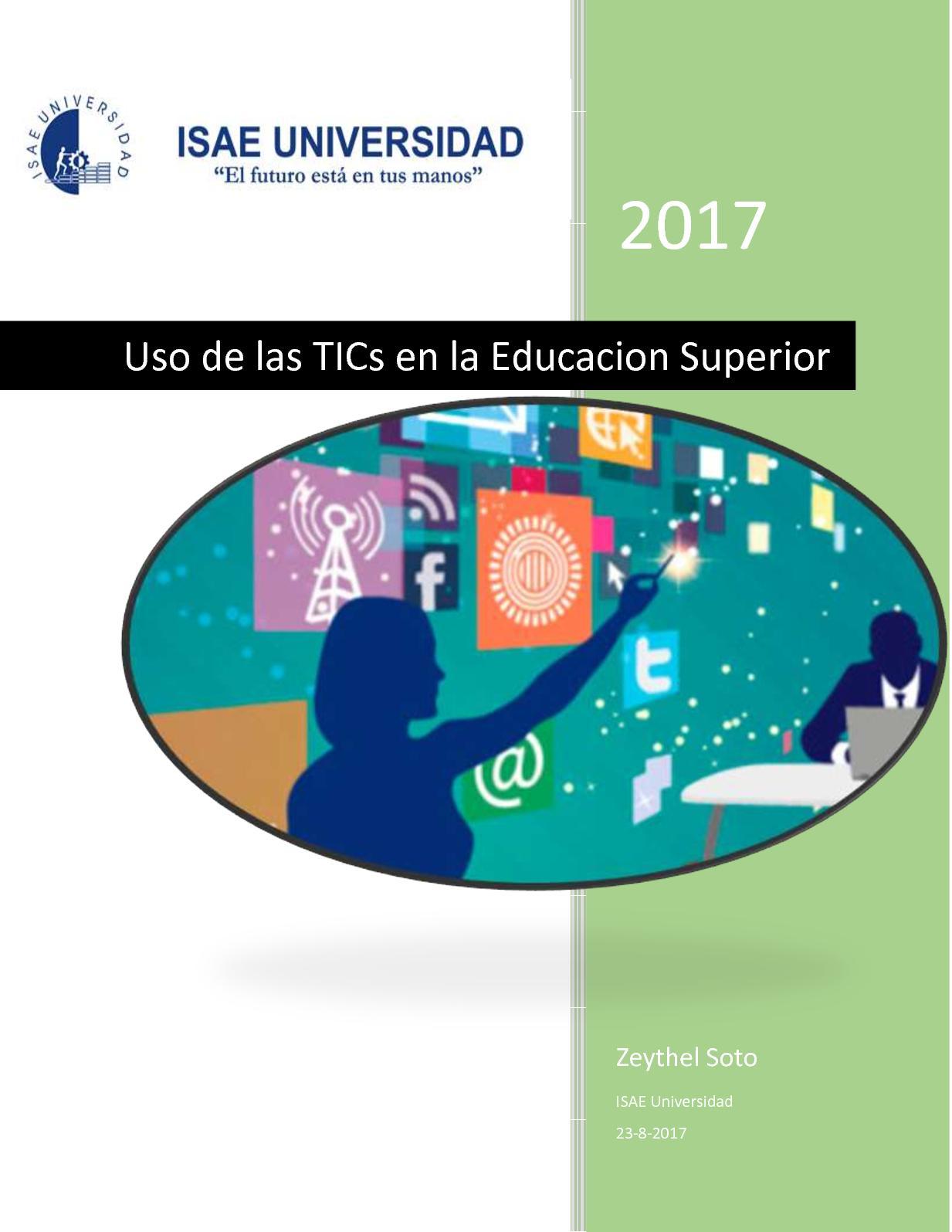Uso de las TICs en la Educación Superior