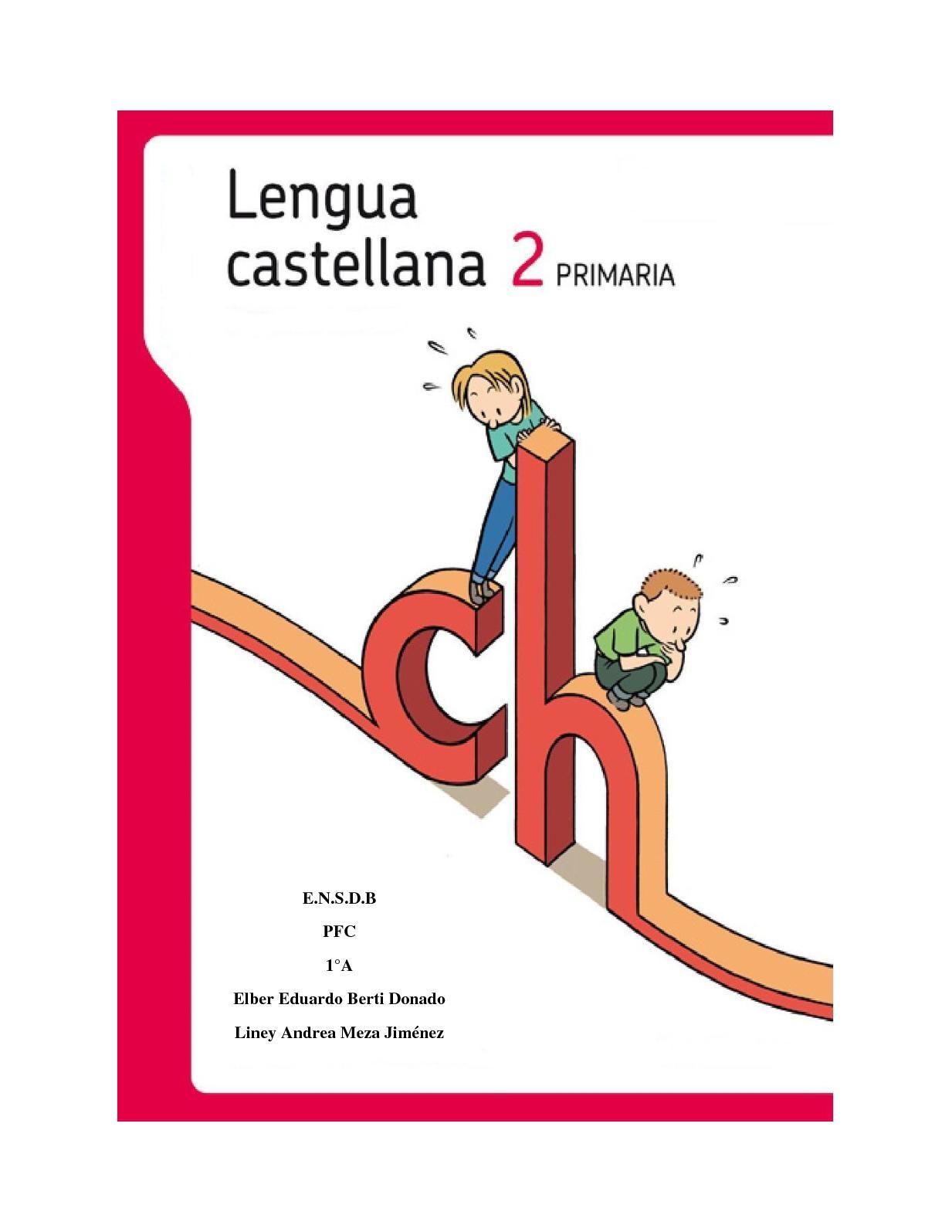 Cartilla Lengua Castellana