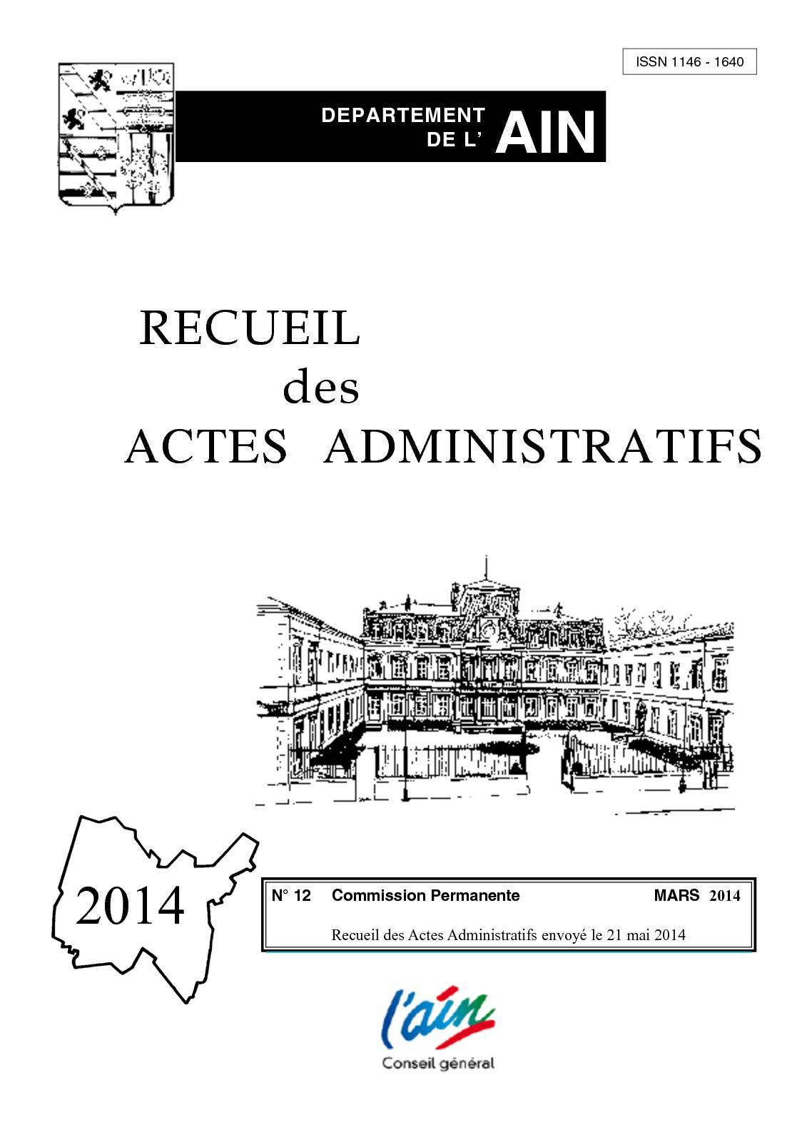 0ba7d72b70a Calaméo - Recueil 12 Commission permanente Mars 2014