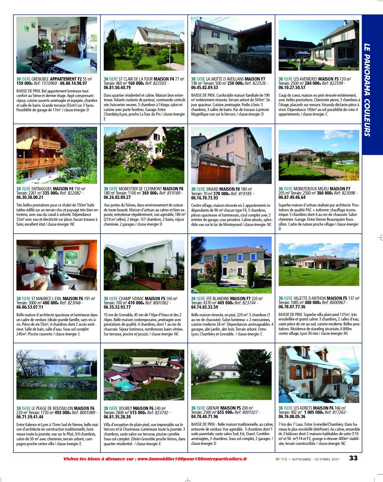 L Immobilier 100 Entre Particuliers Appelimmo N 112 Septembre
