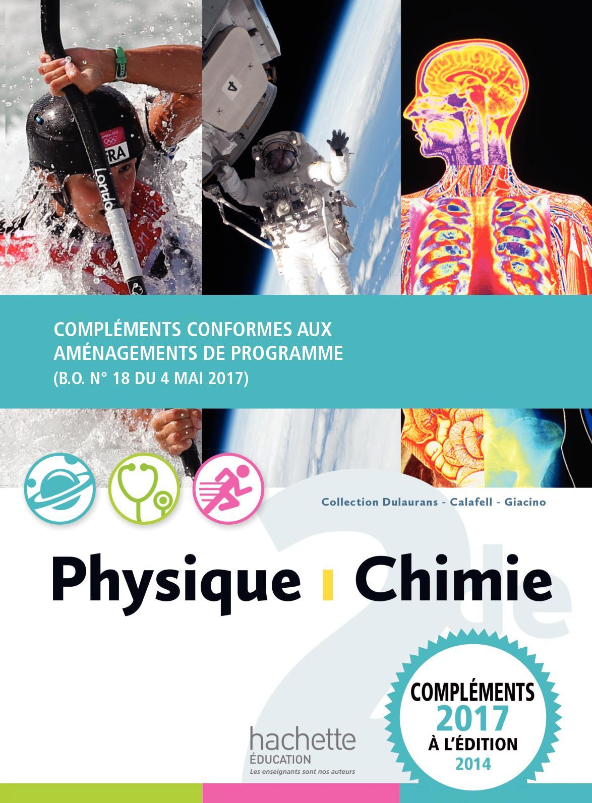 Calaméo - Physique Chimie 2de 2014 - Compléments conformes