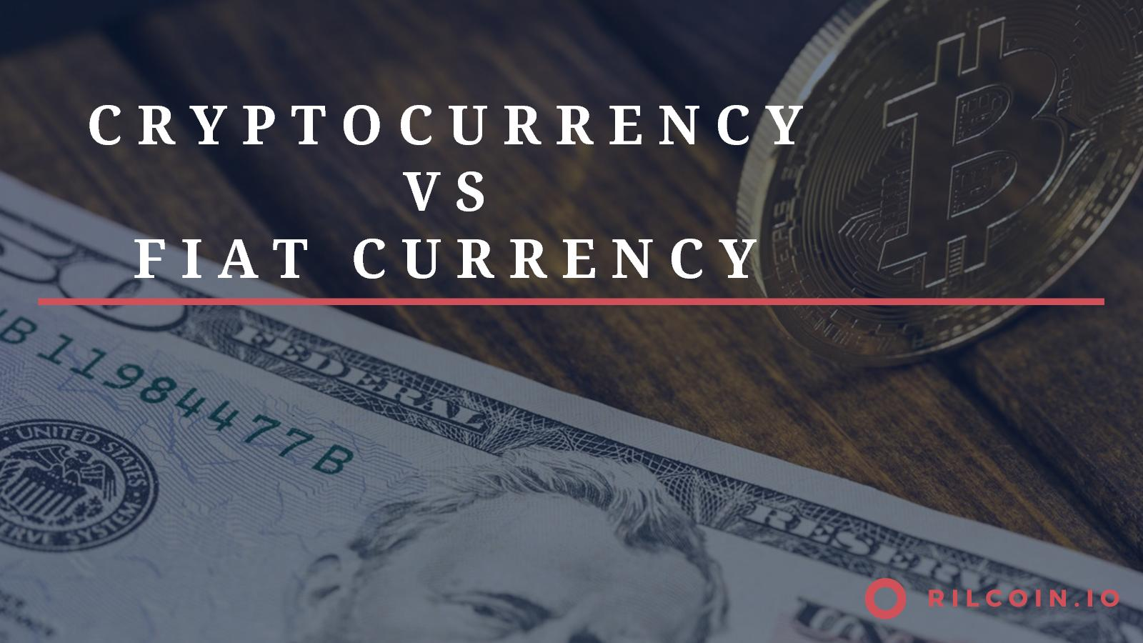 how is cryptocurrency different from fiat money
