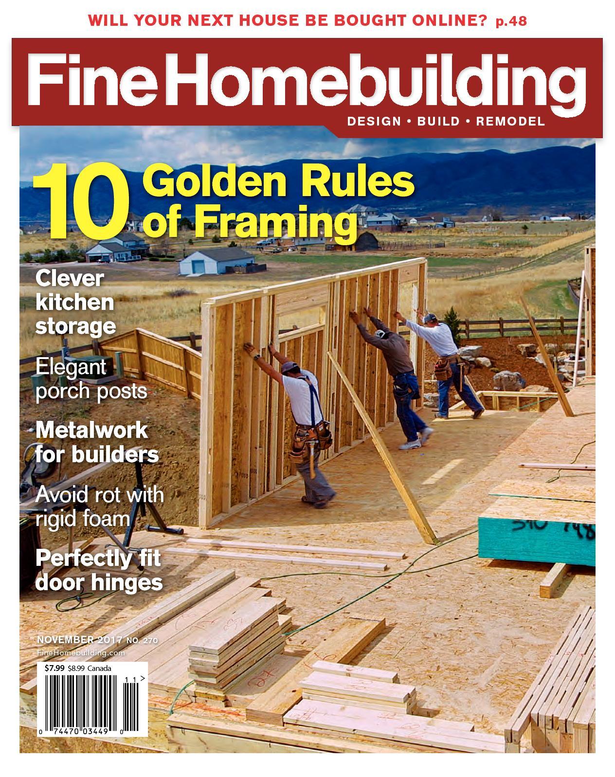 Calaméo - Fine Homebuilding 270 Sample